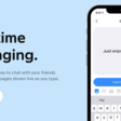 Honk messaging app without a send button for iOS!