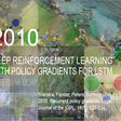 2010: First Journal Paper on Deep Reinforcement Learning with Policy Gradients for Long Short-Term Memory (LSTM)