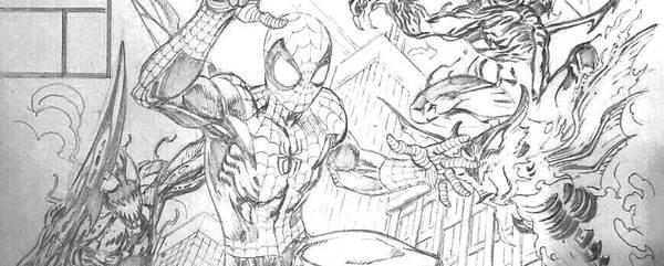 Mark Bagley - Spider-Man Original Comic Art
