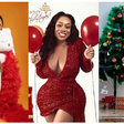 How your favourite celebrities lit up the gram with Christmas themed photos