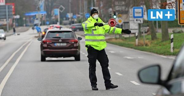 Aufenthaltsverbot: Polizei kontrolliert Tagestouristen vor Travemünde