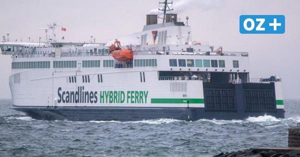 Zu starker Wind: Scandlines sagt Fährfahrten zwischen Rostock und Gedser ab