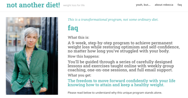 Your questions answered - not another diet!