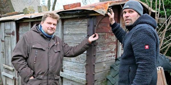 Fundstück des Jahres auf Rügen: Rentner hatte alten Eisenbahn-Waggon im Garten