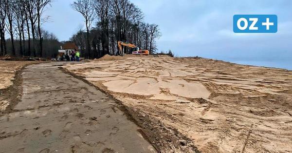 Nach Hangrutsch an Steilküste Sellin auf Rügen: Bunker abgerissen – Wanderwege wieder frei