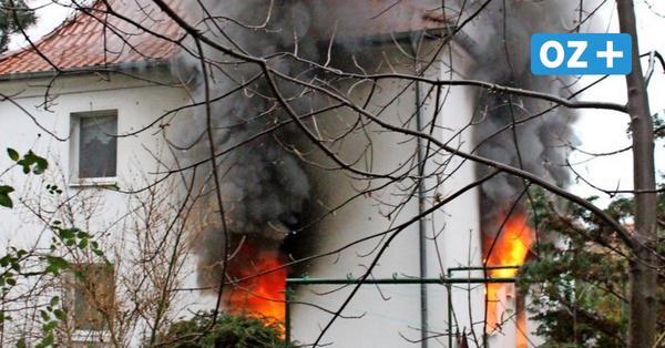 Feuer im Mehrfamilienhaus auf Rügen: Fünf Familien suchen Heiligabend neues Obdach