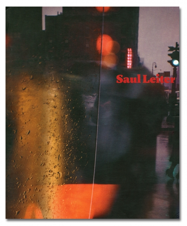Walk with Soames, Saul Leiter, 1958. This is the book sleeve.