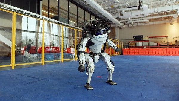 De nieuwjaarsgroet van Boston Dynamics is een parel in content