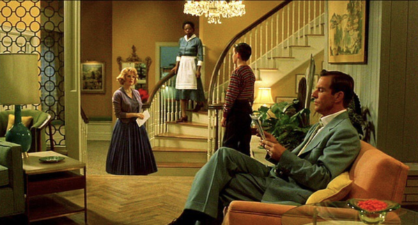 The film Far From Heaven, 2002, intentionally recreates the look of film and life in the 1950s.