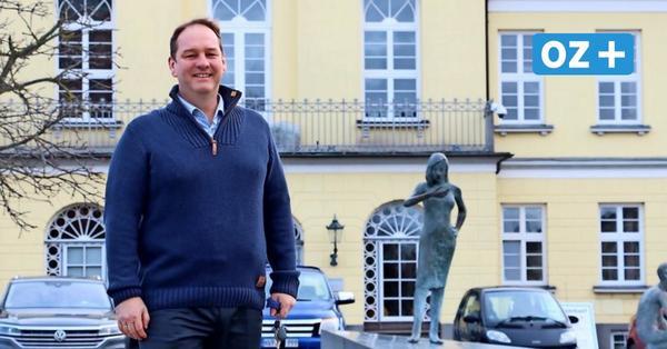 Neustart als Krisenmanager: Ribnitz-Damgartens Bürgermeister blickt auf das Corona-Jahr