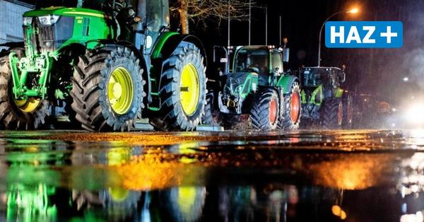 Bauernproteste in Niedersachsen: Landwirte ziehen von Aldi zu Edeka weiter