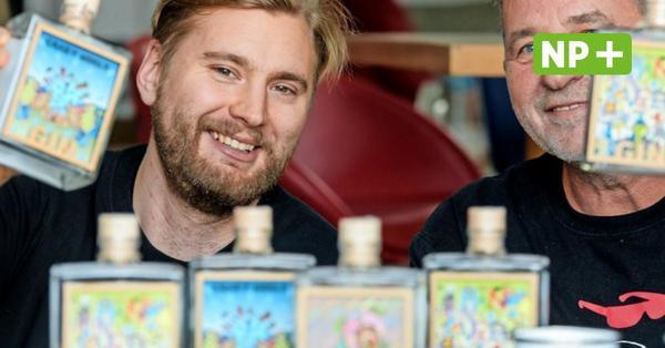 """Kunst und Gin: Della entwirft Hannover-Motive für """"0511 Spirits"""""""
