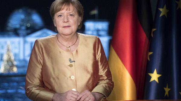 """Neujahresansprache: Merkel schaut auf """"atemloses Jahr"""" und beschwört auch für 2021 den Zusammenhalt"""