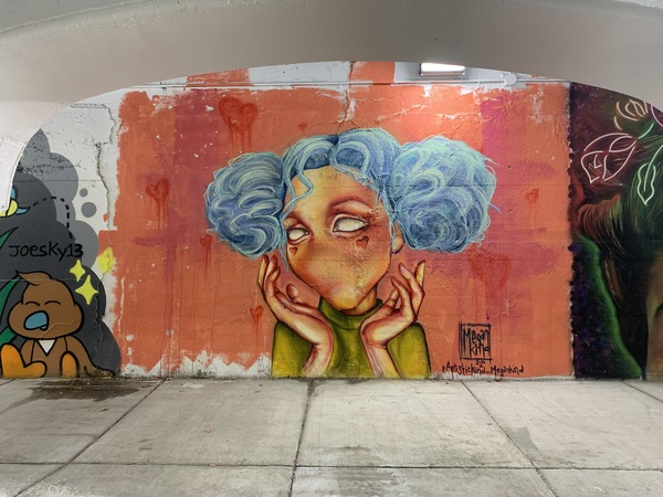 This mural was done by South Side native Megan Kind, who lives in East Humboldt Park. | Robert Herguth/Sun-Times