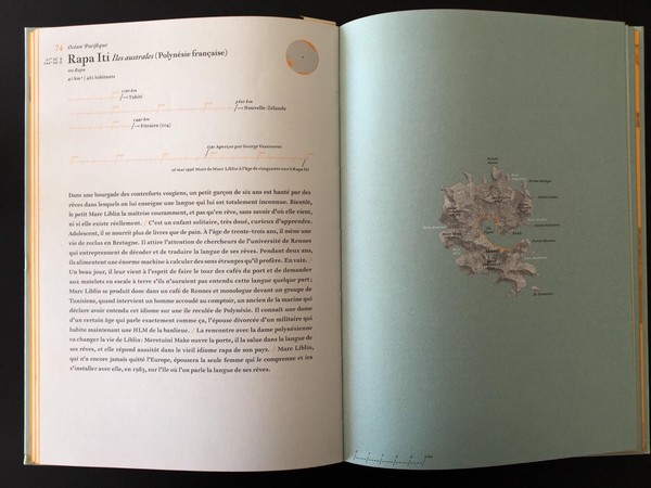 L'Atlas des Îles abandonnées de Judith Schalansky, Editions Arthaud.