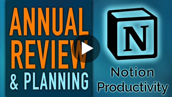 Annual Review & Planning in the Notion PPV Life Operating System