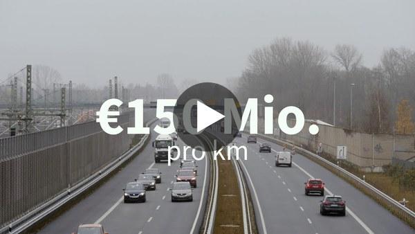 Présentation du projet de l'autoroute A26 au sud de Hambourg (NABU)