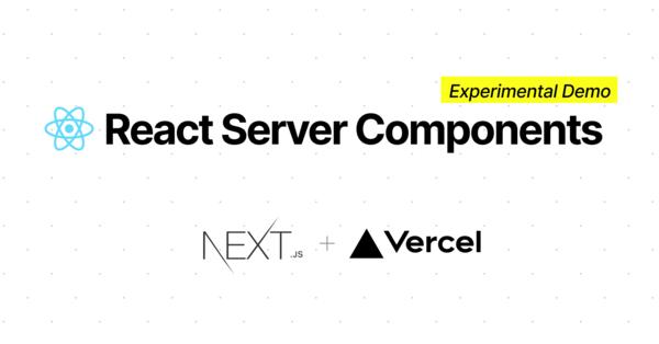 Next.js + Server Components demo