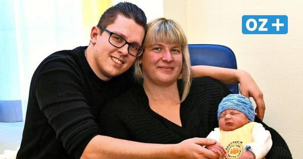 Viel los am Rostocker Südstadtklinikum zu Silvester: Tristan ist das erste Baby 2021