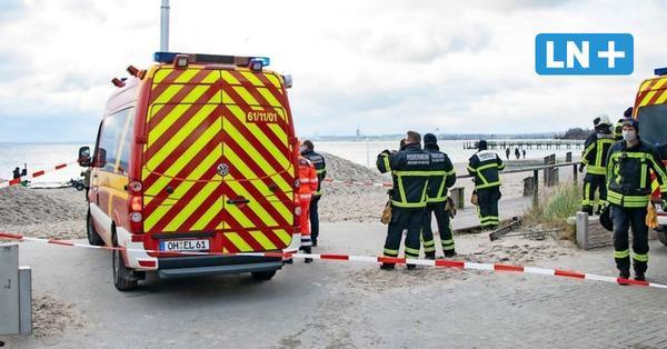 Großeinsatz in der Lübecker Bucht: Kitesurfer aus eiskalter Ostsee gerettet
