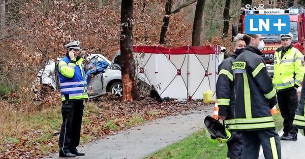 Auto prallt gegen Baum: Zwei Tote auf der B 206 bei Bockhorn