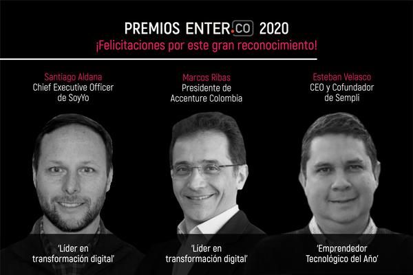 ¡Cracks en este reconocimiento por parte de los premios ENTER.CO 2020!
