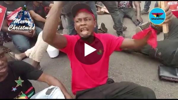 NDC demonstration hits Kasoa