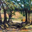 Terrill Welch | Maple Tree Edged Summer Morning (2020) | Available for Sale | Artsy