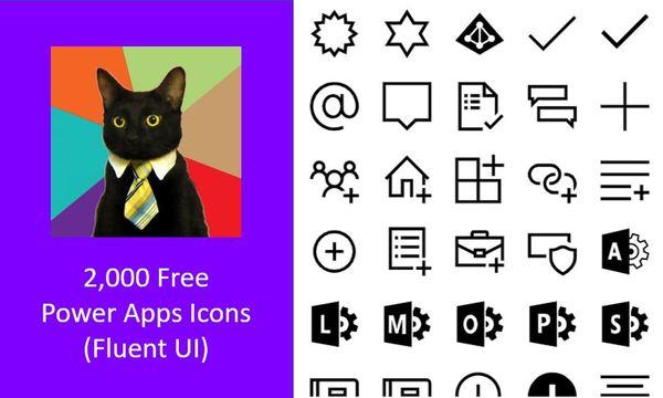 2,000 Free Power Apps Icons - Matthew Devaney