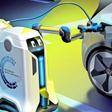 VW präsentiert Prototyp des mobilen Laderoboters