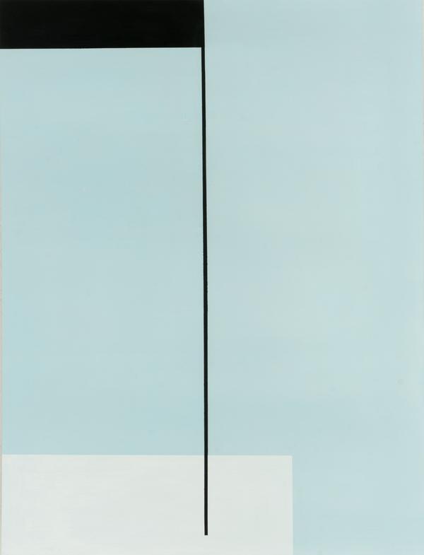 Ioannis Lassithiotakis, THE LINE OF LIFE, 2020, EMULSION ON WOOD, 91,5X70CM
