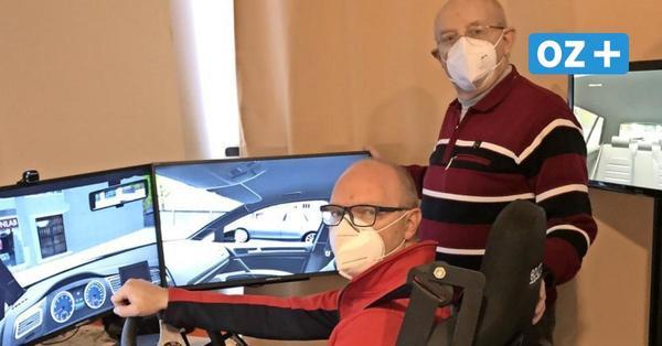 Kröpeliner Fahrschule bietet erste Fahrstunden im Simulator