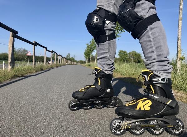 Inline skaten auf Radwegen (Foto: Jana Kubasch)