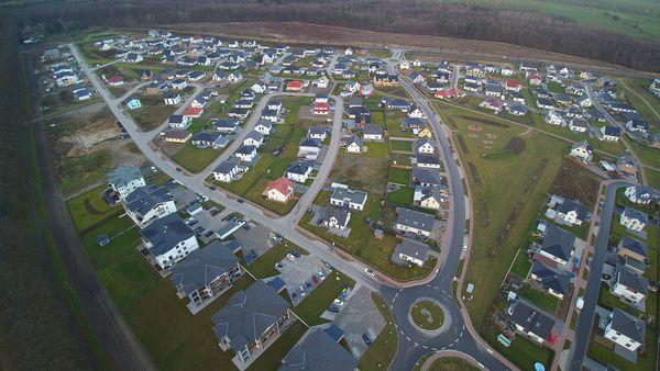 Neues Wohngebiet Ostseewohnpark in Bad Doberan (Foto: Harry Klink)
