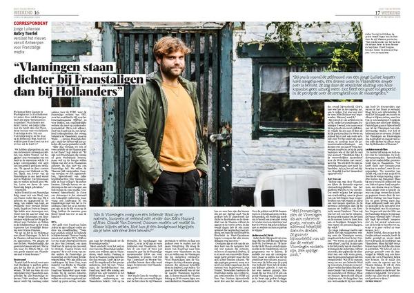 """Les Flamands sont bien plus proches des Belges francophones que des Hollandais"" - ""Vlamingen staan dichter bij Franstaligen dan bij Hollanders"""