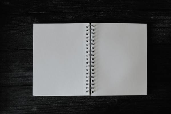 Ooo, look at those blank pages. They're so blank.