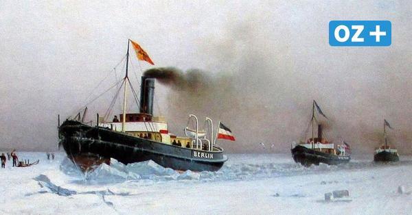 Kaiser Wilhelm II. von pommerschen Eisbrechern begeistert