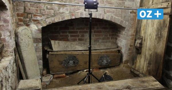 Lüdershagen: Überraschende Funde in der Gruft der ehemaligen Sakristei