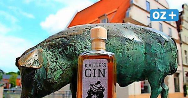 Kalle's Gin aus Wismar erobert die Küste mit Kalle und Luke Skywalker