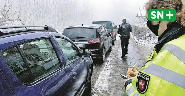 Besucher-Ansturm am Bückeberg: Polizei führt verschärfte Kontrollen durch