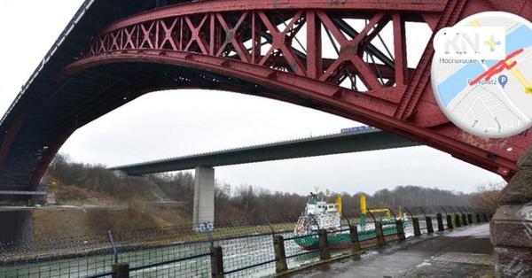Levensauer Hochbrücke: Weg am Kanal in Kiel gesperrt