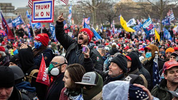 Unruhen in Washington sorgen für weltweite Empörung