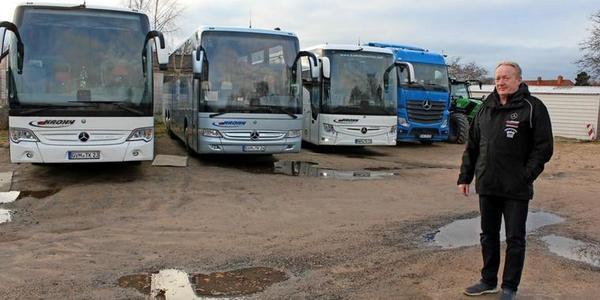 Grevesmühlen: Busunternehmer Krohn fürchtet wegen Corona um Existenz