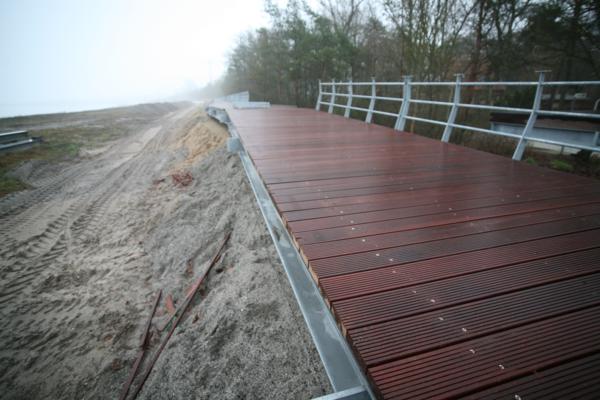 Die Dünenpromenade. (Foto: Prochnow)