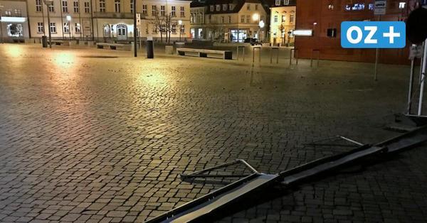 Ribnitz-Damgarten: Böllernde Jugendliche fliehen vor der Polizei
