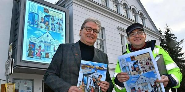 Rügen: Cooler Comic über das Theater Putbus zum Jubiläum