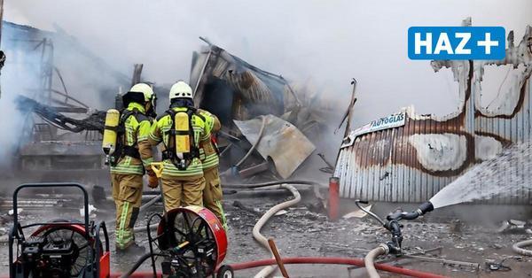 Großbrand in Langenhagen: Schaden liegt bei mehr als 500.000 Euro