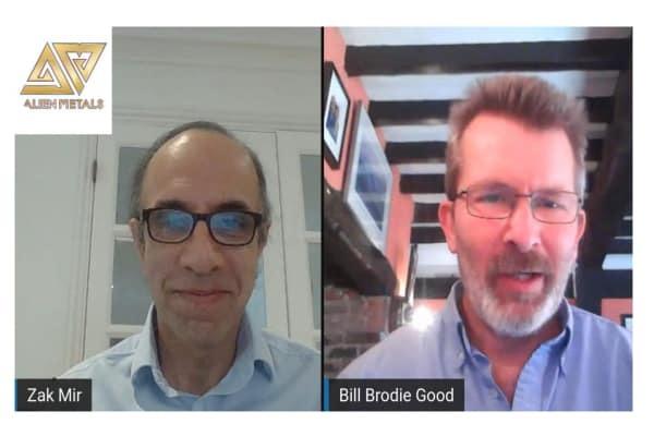 Bill Brodie Good, CEO & Technical Director of Alien Metals (UFO.L) Interview