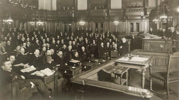 Il y a 100 ans, Hambourg adoptait sa première constitution