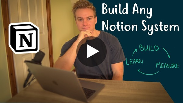 Creating a  Notion   System That Works For You
